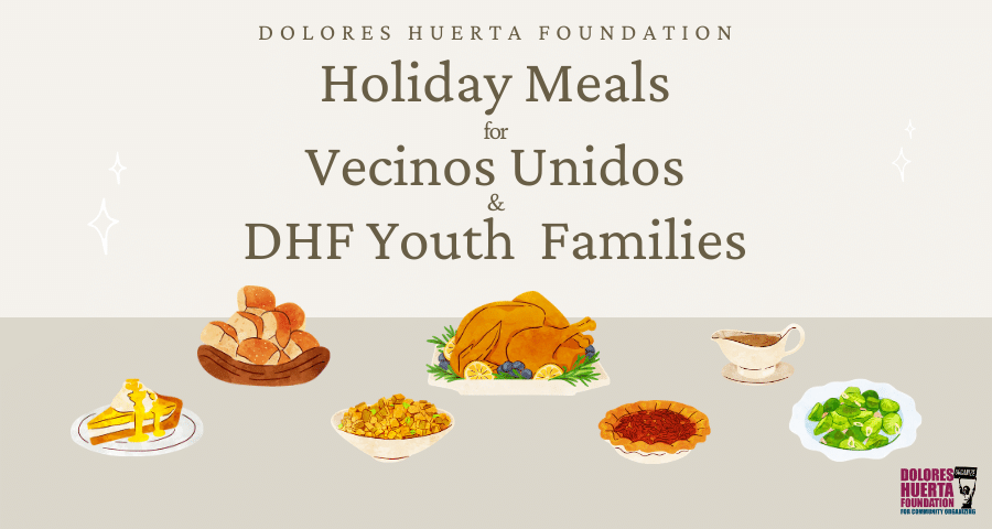 Holiday Meals for Vecinos Unidos & DHF Youth Families