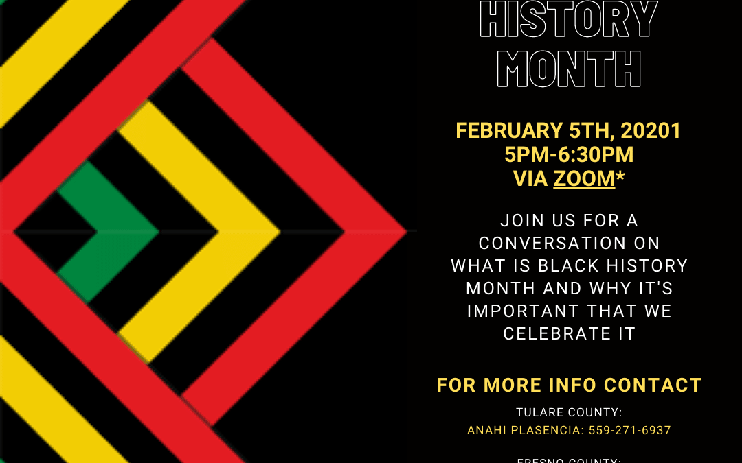 YFCEI Celebrating Black History 2021