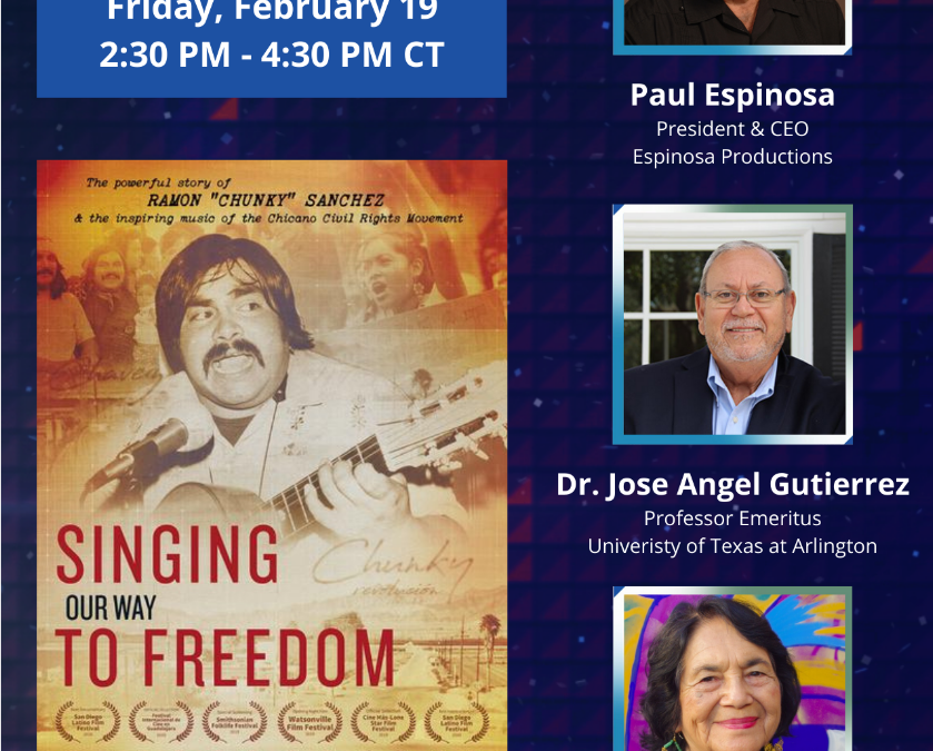 Singing Our Way to Freedom Ft. Dolores Huerta hosted by USHLI