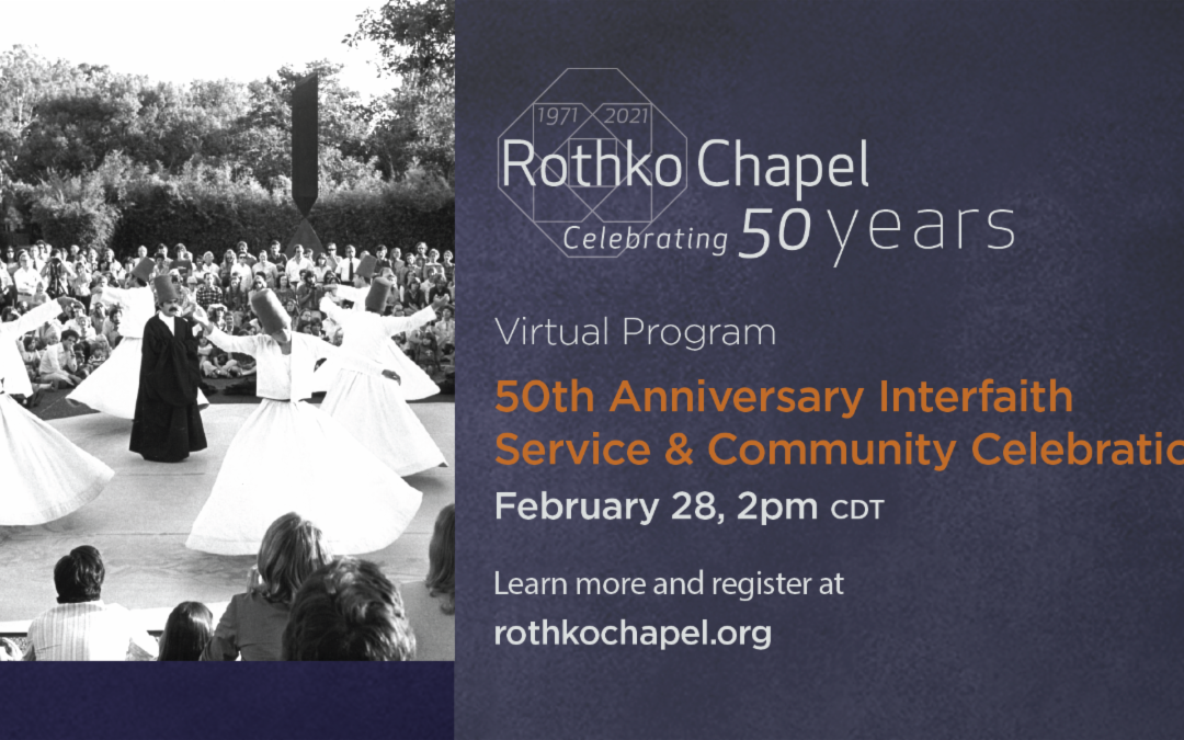 "Rothko Chapel's ""Celebrating 50 Years"" ft. Dolores Huerta"