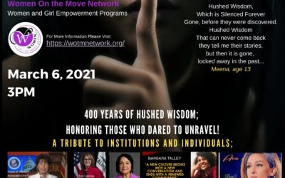 Hushed Wisdom ft. Dolores Huerta hosted by Women on the Move Network