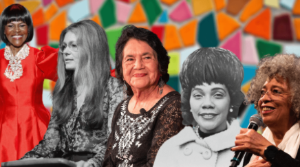 "Dolores Huerta featured in, ""For Women's History Month, Celebrate Feminist Icons Who Helped Animals via PTEA"