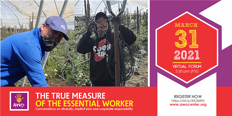 The True Measure of The Essential Worker ft Dolores Huerta hosted by AWỌ
