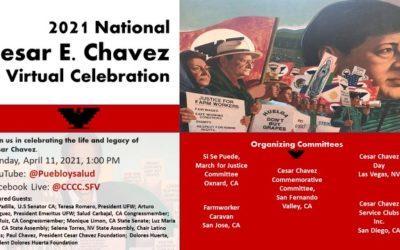 Cesar Chavez Virtual Celebration ft Dolores Huerta hosted by SFV Cesar Chavez Commemorative Committee
