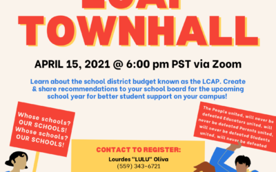 Parlier and Sanger Vecinos Unidos® Chapters Present: LCAP Townhall