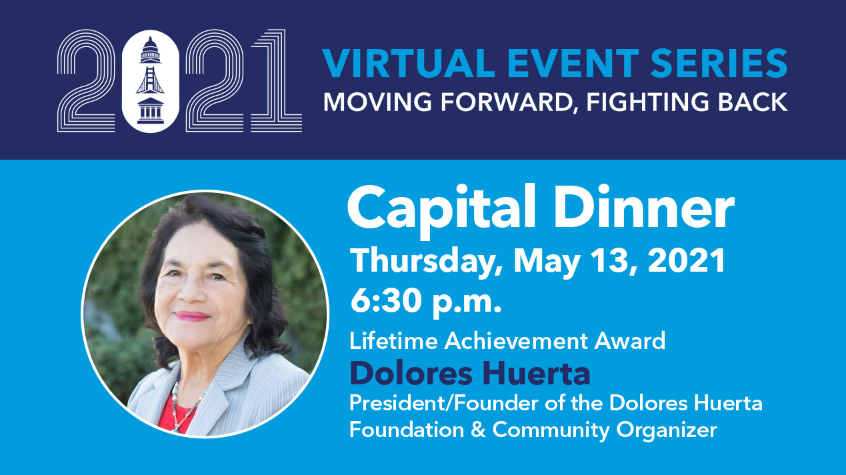 PPMM's Virtual Capital Dinner ft Dolores Huerta