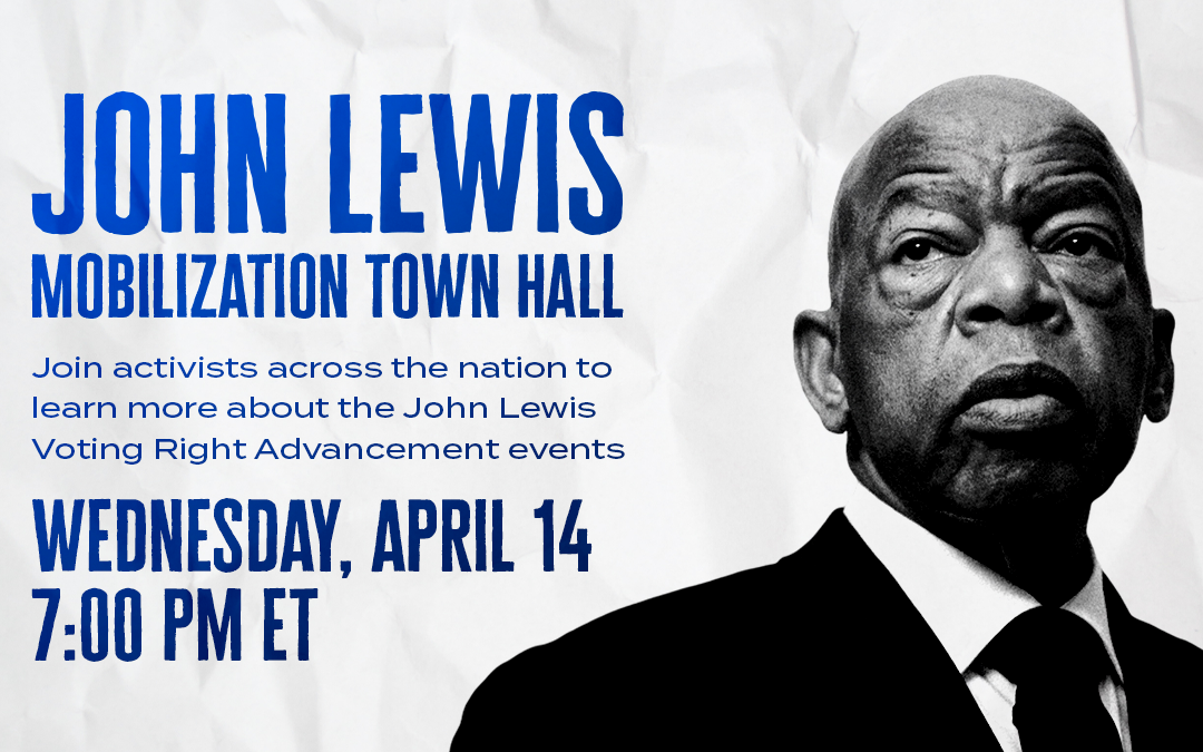 John Lewis Mobilization Town Hall ft Dolores Huerta