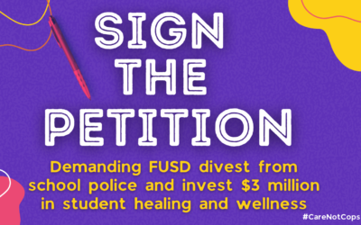 Sign the Petition Demanding that FUSD Invest $3 Mil in Student Wellness!