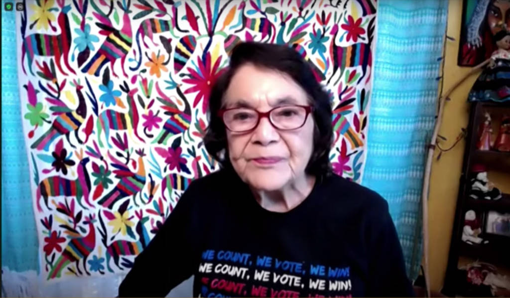 Dolores Huerta advocates for Venice Mexican American Monument before L.A. City Council