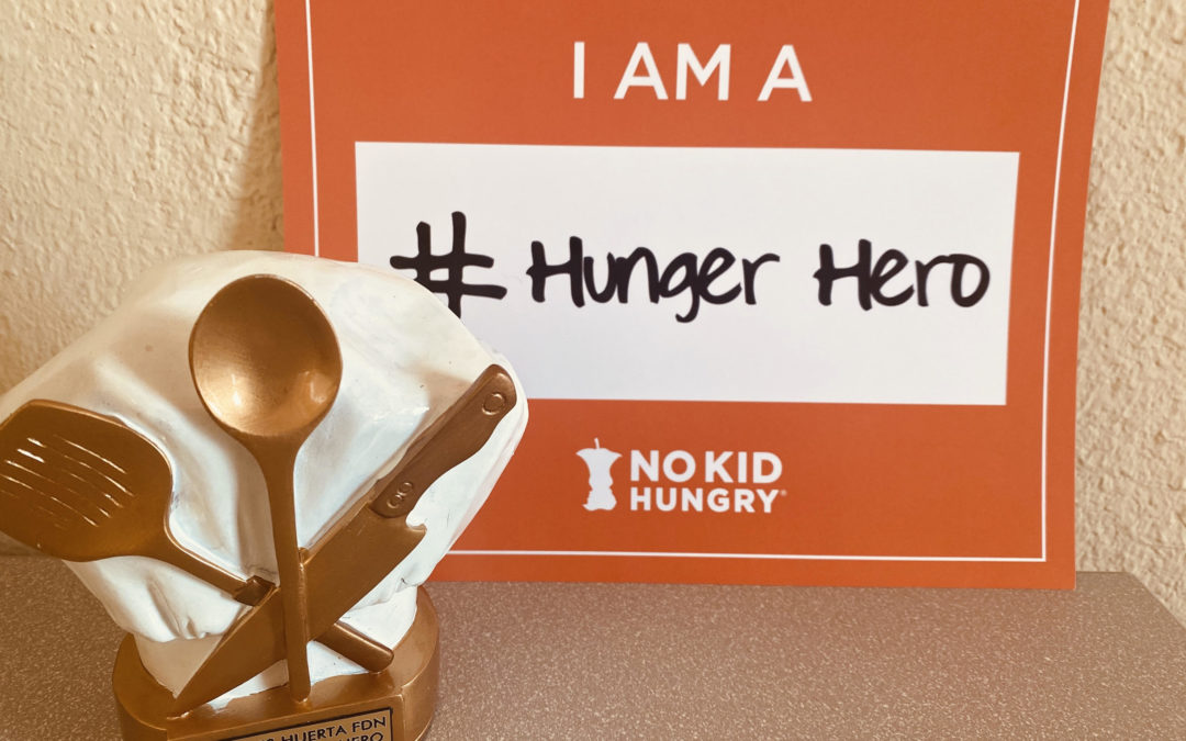 DHF is Honored with NO KID HUNGRY Award!