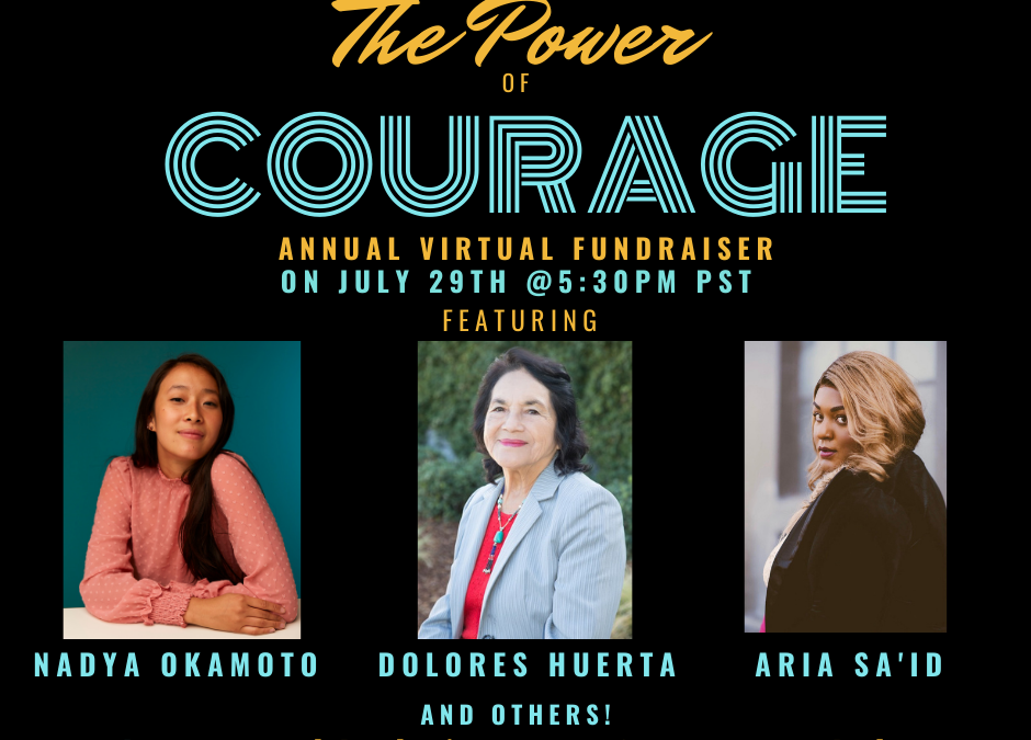 The Power of Courage ft Dolores Huerta hosted by Courage California