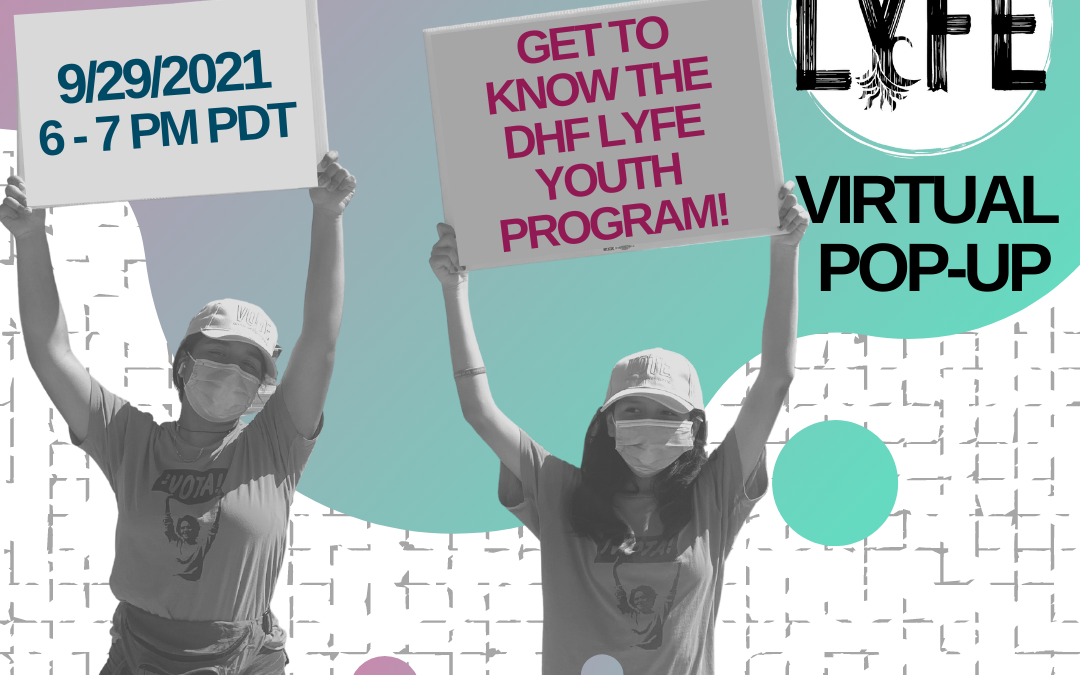 Join us on 9/29 for LYFE's Virtual Pop-up Event!