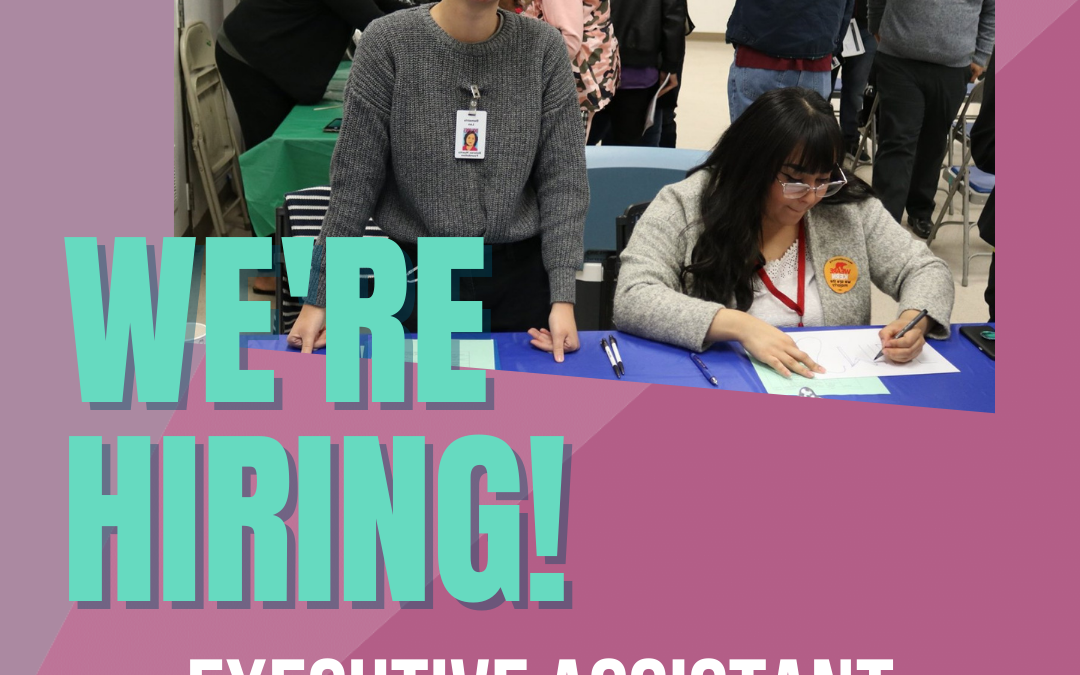 NOW Hiring: Executive Assistant in Kern County