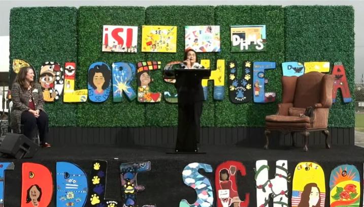 Dolores Huerta Middle School Renaming Ceremony Burbank, CA
