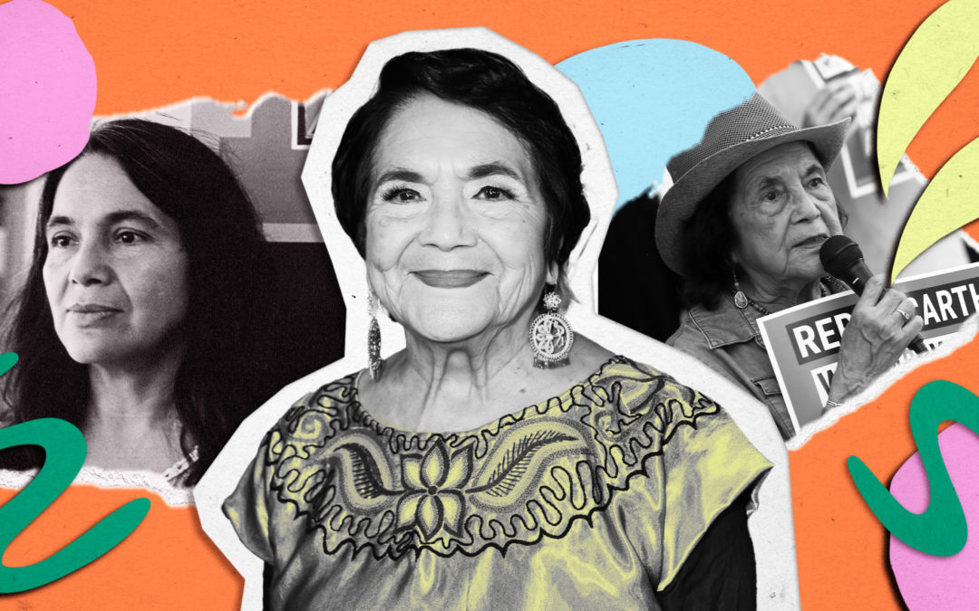 Legendary labor leader Dolores Huerta's advice to young activists? 'It's never too late'